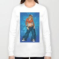 hiphop Long Sleeve T-shirts featuring HipHop by Don Kuing