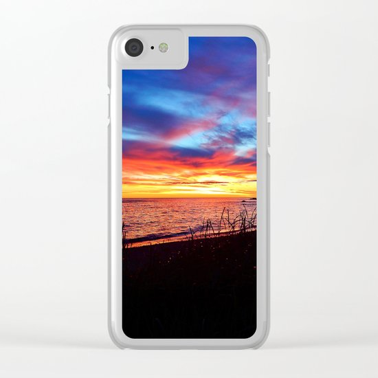 Sunrise on Sainte-Anne-Des-Monts Clear iPhone Case