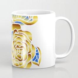 Midas Rose in Charming Blue Coffee Mug