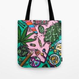 Cannabis Altar I Tote Bag