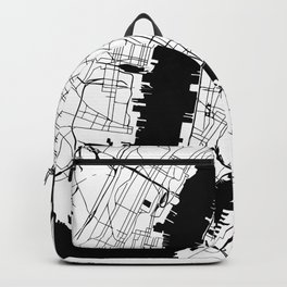 New York City Minimal Map Backpack