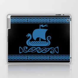 Drgon Boat - Blue Laptop & iPad Skin