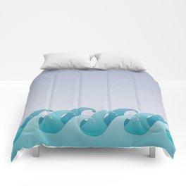 Waves in the Ocean Comforters