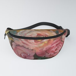 Roses with Cream Pitcher Fanny Pack