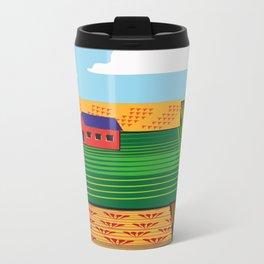 Campi (Fields) Metal Travel Mug