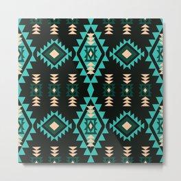 American Native Pattern No. 39 Metal Print
