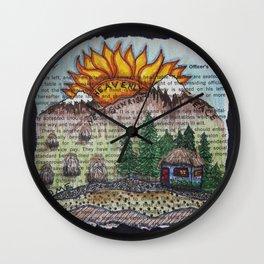 New Sunrise Wall Clock