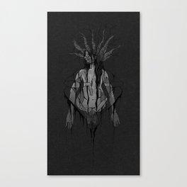 Schizophoned Canvas Print