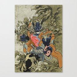 Fire God Canvas Print