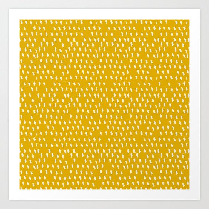 Yellow Modernist Kunstdrucke