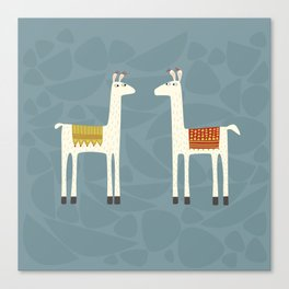 Everyone lloves a llama Canvas Print