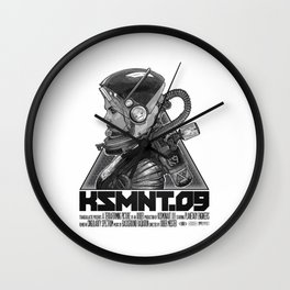 KOSMONAUT 09 Wall Clock