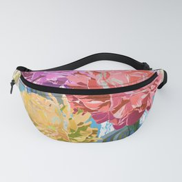 Trio of Peonies - Summer Pastels Fanny Pack