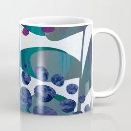 Blue Aliums Coffee Mug