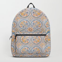 Tile Pattern Mexico II Backpack