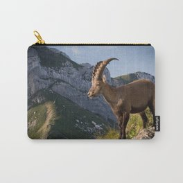 Capricorn in the Alps Carry-All Pouch