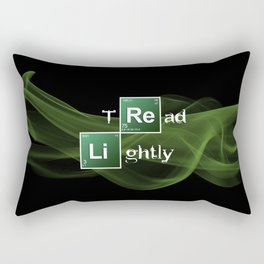 BrBa Tread Lightly Rectangular Pillow