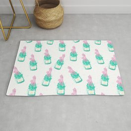 Let's drink champagne summer party print Rug