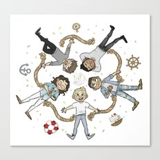 Ring of cutes Canvas Print