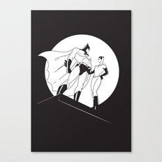 The Night is Dark Canvas Print