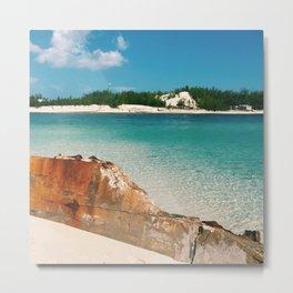 Island Landscape Metal Print