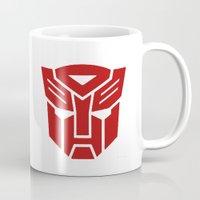 transformers Mugs featuring Transformers by tshirtsz