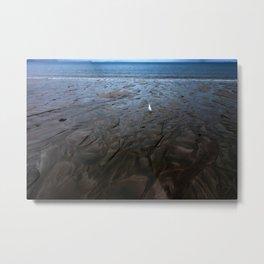 Low Tide at Hibiscus Coast Metal Print
