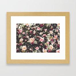 Beat Around The Rosebush Framed Art Print
