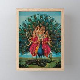 Hindu Art Framed Mini Art Print