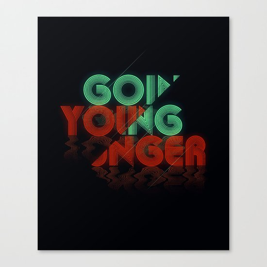 Going Younger Canvas Print