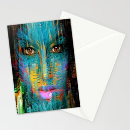Looking Out The Window Stationery Cards