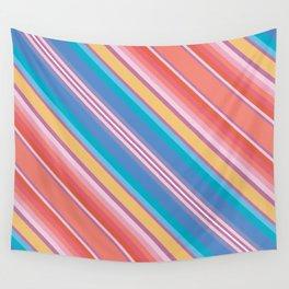 Frida Blanket Stripe in Tamale Wall Tapestry