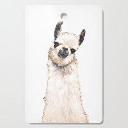 Llama Cutting Board