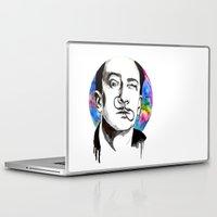 dali Laptop & iPad Skins featuring Dali by Clementine Petrova