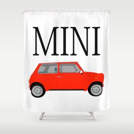 MINI Shower Curtain