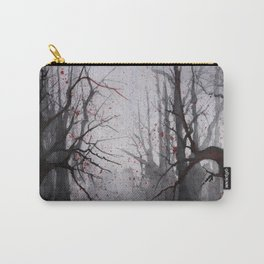 Watercolor Trees 09 Carry-All Pouch
