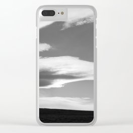 Dramatic Sky with Clouds and Landscape Clear iPhone Case