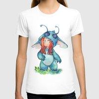 stitch T-shirts featuring stitch  by cynamon