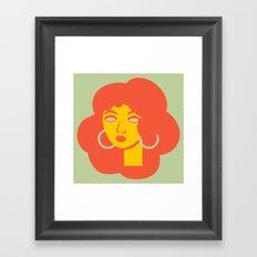 Polly Primrose Framed Art Print
