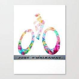 Just WalkAway - Commission by a Wonderful Friend Canvas Print
