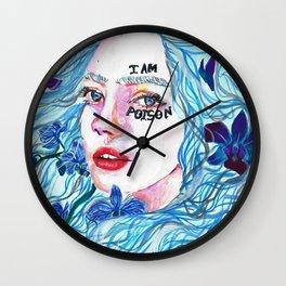 I AM POISON Wall Clock