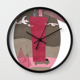 A Traveling Cinema Wall Clock