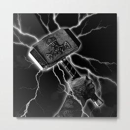 THOR'S HAMMER Metal Print