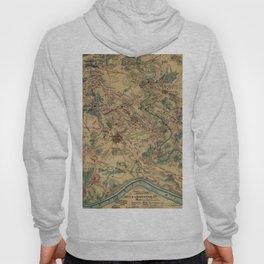Vintage Antietam Battlefield Map (1862) Hoody