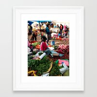 peru Framed Art Prints featuring PERU by Camille Defago
