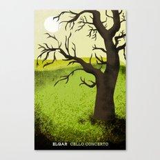 Elgar Cello Concerto Canvas Print
