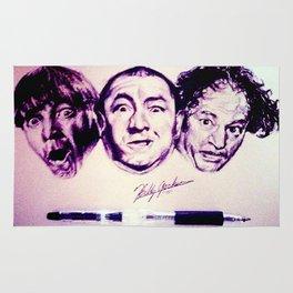 The Three Stooges Rug