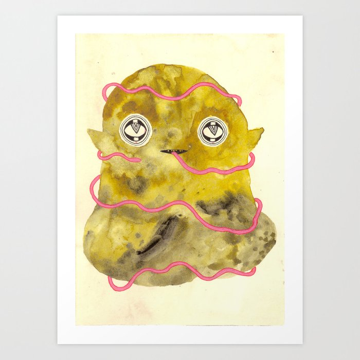 Conceited Art Print