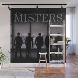 The Misters by JA Huss Wall Mural