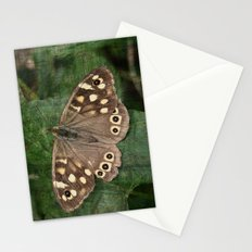 Speckled Wood Butterfly Stationery Cards